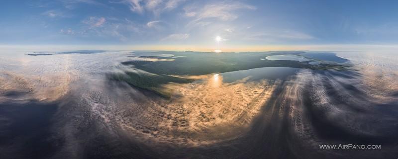 Озерный край, озера Большое Вавайское и Буссе / Фото из России