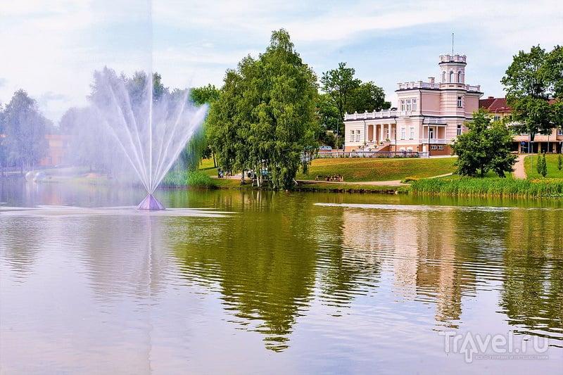 the fountain of Druskininkai / Литва