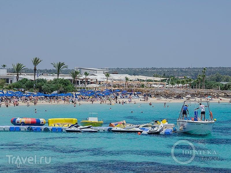 Makronissos beach в Айя-Напе / Фото с Кипра