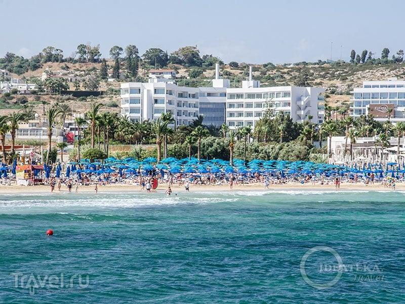 Limanaki Beach в Айя-Напе / Фото с Кипра