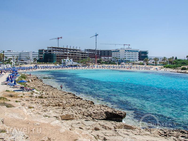 Vanthia beach в Айя-Напе / Фото с Кипра