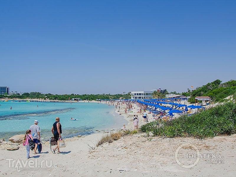 Landa beach в Айя-Напе / Фото с Кипра