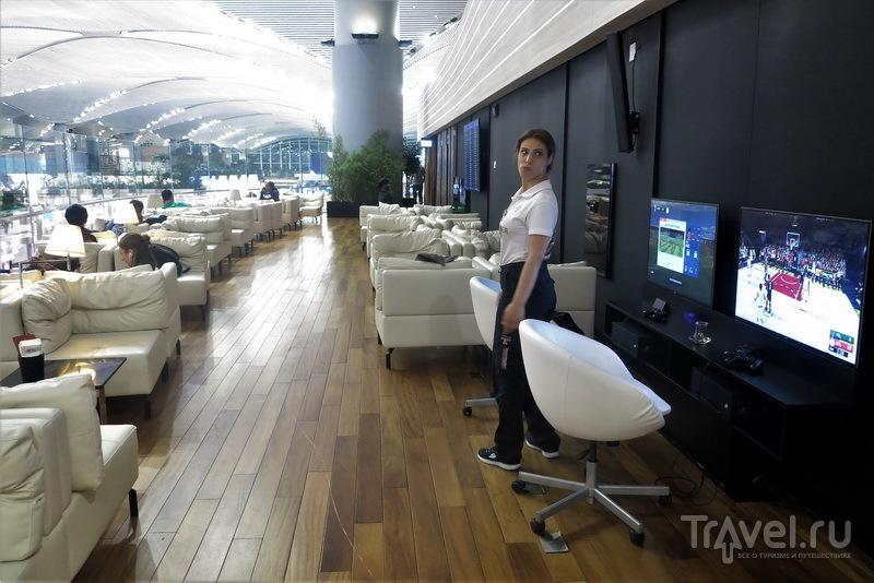 Игровые компьютеры и балкон, Miles&Smiles Lounge / Турция