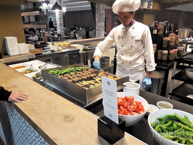 Стойка горячей еды, Business Lounge / Турция