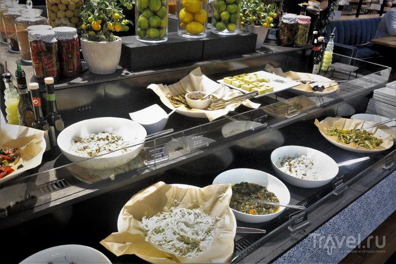 Выбор салатов, Business Lounge / Турция