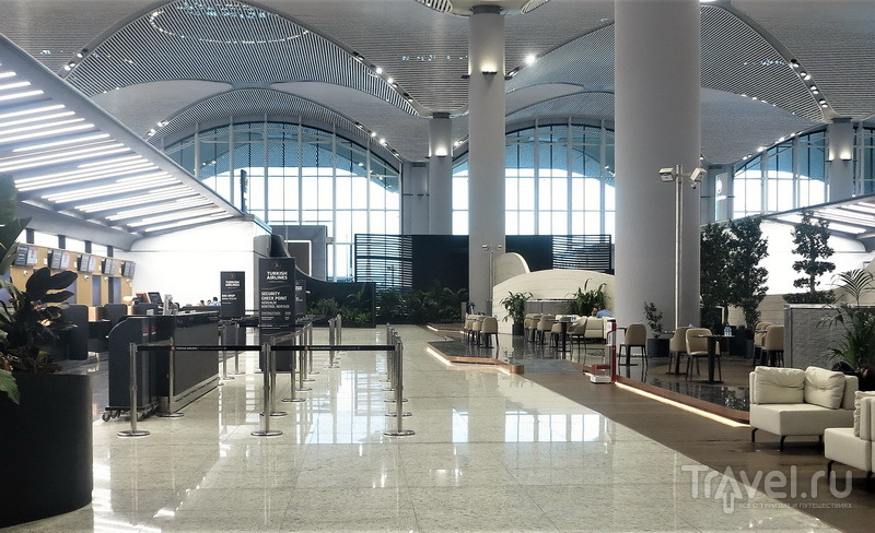 Зона приоритетной регистрации для пассажиров бизнес-класса / Турция