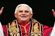 Папа Римский Бенедикт XVI. Фото: BBC
