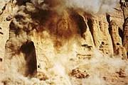 Бамиян, разрушение талибами достопримечательностей. Фото: Newsru.com