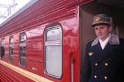 """Вагон оригинального поезда """"Красная стрела"""". Lenta.ru/rzd.ru"""