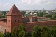 Лидский замок. // lida.info