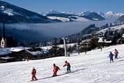 Снег на горнолыжных курортах становится редкостью. // GettyImages