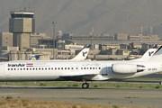 Самолет компании Iran Air в старом аэропорту Mehrabad. // Airliners.net