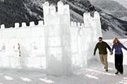 Снежная крепость в Кеми строится ежегодно. // GettyImages