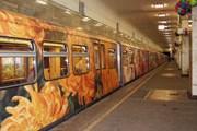 Поезд отличается от других не только интерьером. // andriaka.ru