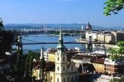 Вид на Будапешт с горы Геллерт // hungary-ru.com