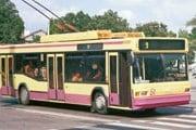 Троллейбус напрокат - теперь и в Полтаве. // transphoto.by.ru