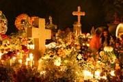 Праздник мертвых - красочный фестиваль в Мексике. // GettyImages