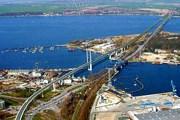 Длина моста - 4104 метра. // ruegen-stralsund.de