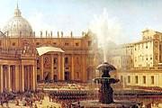 Площадь Святого Петра в Ватикане тоже создал Бернини. // museum.ru