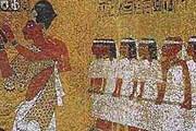 Фреска в гробнице Тутанхамона // tonnel.ru