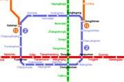 Схема линий пекинского метро // Travel.ru