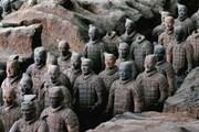 Терракотовые воины, выставленные в Гамбурге, оказались подделкой. // GettyImages
