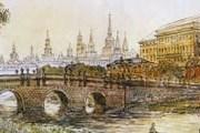 """Кузнецкий мост получил свое название благодаря мосту через Неглинку. // РИА """"Новости"""""""