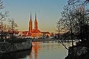 Собор Иоанна Крестителя на Тумском острове - одна из главных достопримечательностей Вроцлава. // Travel.ru