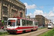 Трамваи на улицах Петербурга // Railfaneurope.net