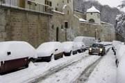 На севере Франции выпал снег. // Reuters