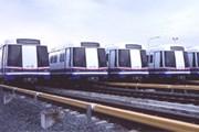 Поезда подземного метро Бангкока в депо // bangkokmetro.co.th