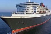 Крупнейший в мире океанский лайнер Queen Mary 2. // panoramix.ru