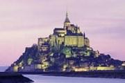 Мон-Сен-Мишель - посещаемая достопримечательность Франции. // GettyImages