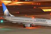 Самолет авиакомпании Continental Airlines // Airliners.net
