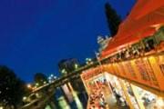 Hermann - популярный пляжный бар Вены. // austria.info