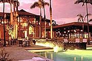 Fairmont Zimbali Lodge вечером // kwazulu-natal.lodgeguide.co.za