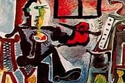 """""""Художник в своей студии"""". Пабло Пикассо. 1963 год."""