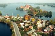 Тракай – город, лежащий между трех озер. // Žurnalas Statyba ir architektūra