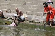 Ганг – священная для индусов река. // Семен Павлюк