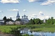 Иверский монастырь на озере Валдай. // Сергей Баранов