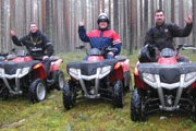 Сафари на квадроциклах - популярный вид отдыха в Карелии. // Adrenalinetour.Ru