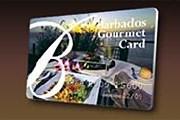 Карта гурмана, дающая скидку в 25% // barbadosgourmetcard.com