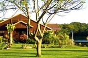 Отель построен в традиционном стиле с использованием натуральных материалов. // travelnow.com