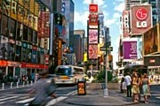 Таймс-сквер – сердце Манхэттена. // Allan Baxter