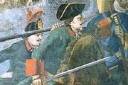 «Полтавская баталия», фрагмент мозаики М. В. Ломоносова. // Wikipedia