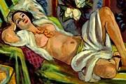 Анри Матисс. Одалиска с магнолиями. 1923-1924 год.