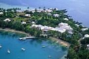 Cambridge Beaches Resort & Spa с высоты птичьего полета. // elegantresorts.co.uk
