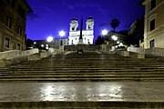 Испанская лестница вечером // Enzo D.