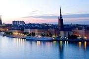 Летний Стокгольм привлекателен для туристов. // Bruno Ehrs