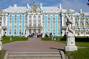 Екатерининский дворец – визитная карточка Царского Села. // wikipedia.org